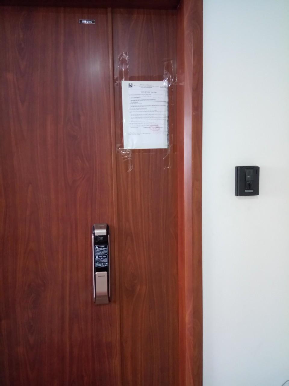 Khóa cửa samsung 718 - N03 T5 Ngoại Giao Đoàn