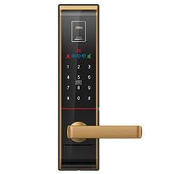 Khóa cửa vân tay Milre Mi 6800 Gold