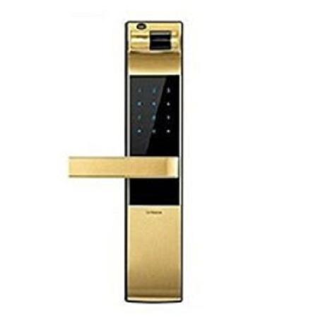 Khóa cửa vân tay Yale YDM 4109 vàng