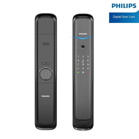 Khoá cửa vân tay Philips DDL702E